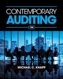 Contemporary Auditing 10th Edition