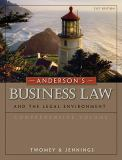 Business Law and the Legal Environment 9780324786668