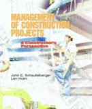 Management of Construction Projects