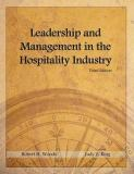 Leadership and Management in the Hospitality Industry 3rd Edition
