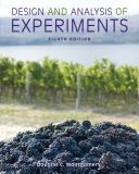 Design and Analysis of Experiments 8th Edition