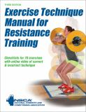 Exercise Technique Manual for Resistance Training 3rd Edition with Online Video 3rd Edition