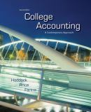 College Accounting 2nd Edition