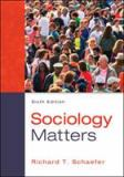 Sociology Matters 6th Edition
