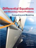 Differential Equations and Boundary Value Problems 5th Edition