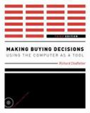 Making Buying Decisions 3rd Edition