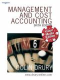 Management and Cost Accounting 9781844807031