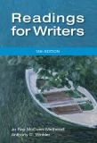 Readings for Writers 14th Edition