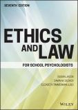 Ethics and Law for School Psychologists 7th Edition