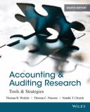 Accounting and Auditing Research 9781118027073