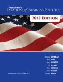 MH Taxation of Business Entities 2012e with Connect Plus 9780077867096