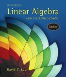Linear Algebra and Its Applications 9780321287137