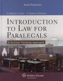 Introduction to Law for Paralegals 9780735567191