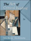 The Art of Critical Reading 3rd Edition