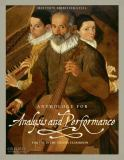 Anthology for Analysis and Performance 1st Edition