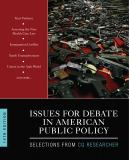 Issues for Debate in American Public Policy 14th Edition