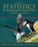 Statistics for the Behavioral and Social Sciences 5th Edition