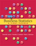Business Statistics 6th Edition