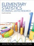 Elementary Statistics in Criminal Justice Research 9780132987301