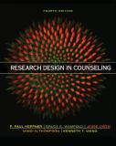 Research Design in Counseling 4th Edition
