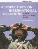 Perspectives on International Relations 9781604267327