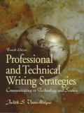 Professional and Technical Writing Strategies 9780139547362