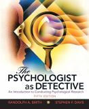 The Psychologist as Detective 5th Edition