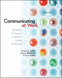 Communicating at Work, with Connect Plus Communication Access Card 11th Edition