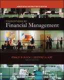 Foundations of Financial Management 9780073257433