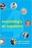 Everything's an Argument 4th Edition