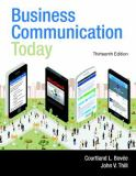 Business Communication Today 13th Edition