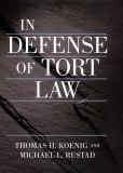 In Defense of Tort Law 9780814747575