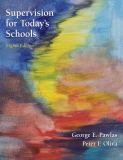 Supervision for Today's Schools 8th Edition