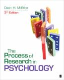 The Process of Research in Psychology 3rd Edition