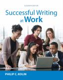Successful Writing at Work 11th Edition