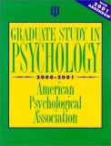 Graduate Study in Psychology, 2000 Edition 9781557987624