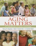 Aging Matters 9780205727643