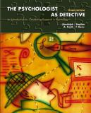The Psychologist as Detective 9780131117648