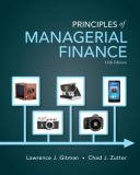 Principles of Managerial Finance 14th Edition
