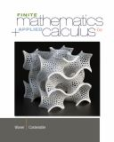 Finite Math and Applied Calculus 9781133607700