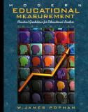 Modern Educational Measurement 9780205287703