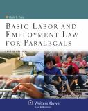 Basic Labor and Employment Law for Paralegals 2nd Edition