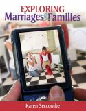 Exploring Marriages and Families 9780205717798