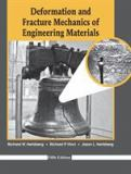 Deformation and Fracture Mechanics of Engineering Materials 5th Edition