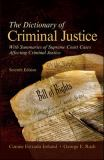 The Dictionary of Criminal Justice 9780073527802