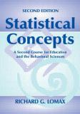 Statistical Concepts 9780805837834