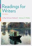 Readings for Writers 15th Edition
