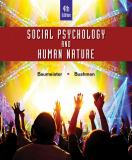 Social Psychology and Human Nature, Comprehensive Edition 4th Edition