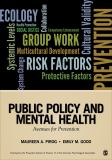 Public Policy and Mental Health 1st Edition