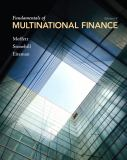 Fundamentals of Multinational Finance 4th Edition